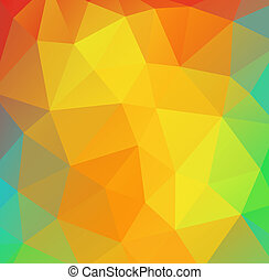 Abstract vector polygonal background for Your design.