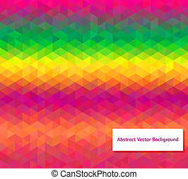 Abstract vector polygonal background for Your design