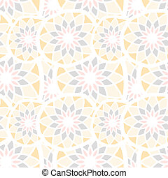 Abstract vector seamless texture with mosaic elements