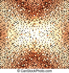 abstract, vector, sequins, goud