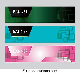abstract, vector, spandoek