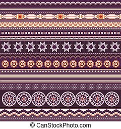 Abstract vector strip pattern