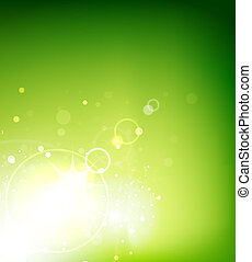 Abstract vector sunshine background - Vector illustration ...