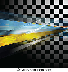 Abstract vector tech background