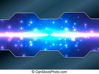 Abstract vector technology background. illustration vector design