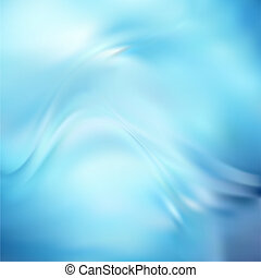 Abstract Vector Texture, Blue Silk