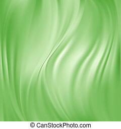 Abstract Vector Texture, Green Silk