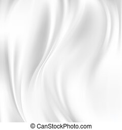 Abstract Vector Texture, White Silk