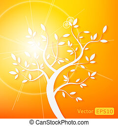 Abstract vector tree
