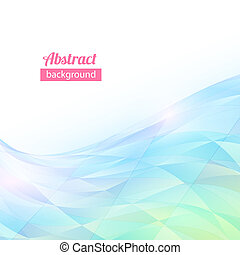 Abstract vector triangle flow background with space for your text
