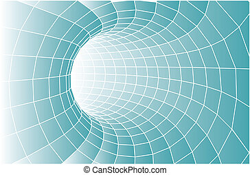 abstract vector tunnel - suitable for background