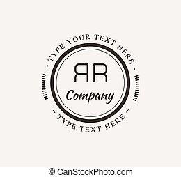 Abstract vector vintage logo design elements set. Arrows,...