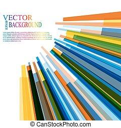 abstract, verhuizing, kleurrijke, achtergrond