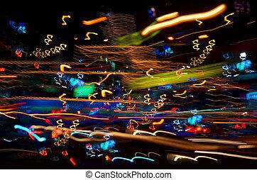 abstract, verlichting, achtergrond