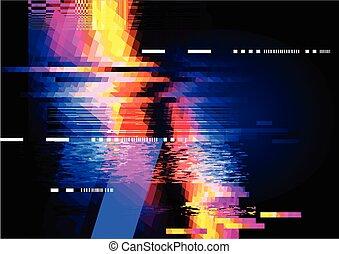 abstract, verplaatsing, achtergrond