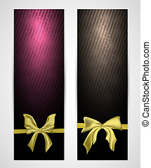 abstract vertical celebration banners