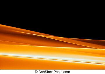 vibrant orange background on black - abstract vibrant orange...