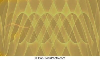 Abstract video with a fiery sine wave . Modern fantasy...