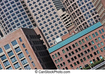 Abstract view of Boston