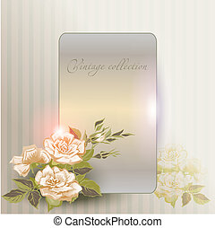 abstract vintage elegant vector background with with...