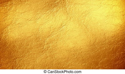 Abstract vintage gold surface motion background seamless loop