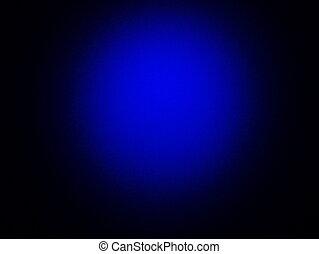 Abstract vintage grunge blue background with black vignette frame o