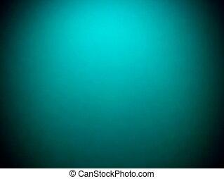 Abstract vintage grunge blue turquoise background with black vignette frame o