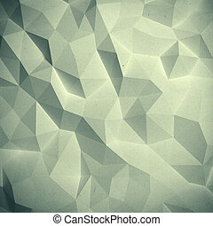 Abstract vintage triangular geometric pattern