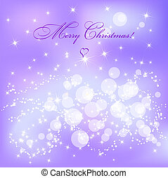 Christmas background - Abstract violet Christmas background...
