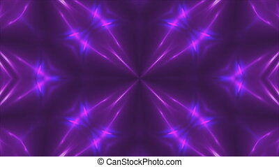 Abstract violet fractal lights, 3d backdrop, computer...