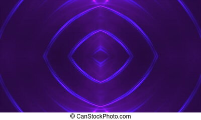 Abstract violet fractal lights, 3d backdrop, computer...
