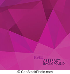 Abstract Violet Geometric Background.