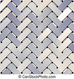 Abstract virtual geometric pattern illustrations texture, woven mat or rattan.