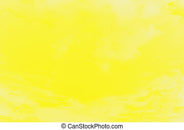 Abstract vivid yellow blurred background, sunny background