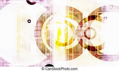 VJ Retro Circles loop