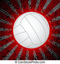 abstract voleyball background