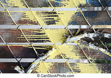 Abstract wall.