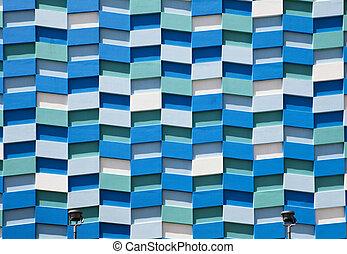 Abstract Wall Facade