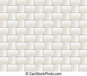 abstract wall of bricks