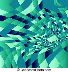 abstract warp background 2403 - Abstract background with a...