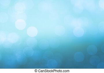 Bokeh backgrounds blue water splash.