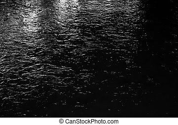 Abstract water surface. The sea and the waves.