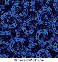abstract water whirl seamless pattern background