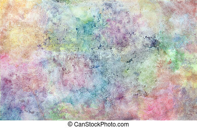 abstract watercolor background - abstract free hand drawing...