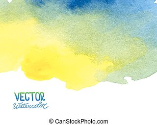 Abstract watercolor background for your design