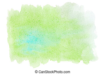Abstract watercolor background for your design. Watercolour hand paint stroke stain