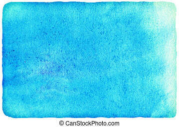 Abstract watercolor on white background. Colorful...