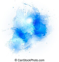 abstract watercolor stains
