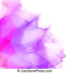 Abstract watercolour design - Abstract watercolour...