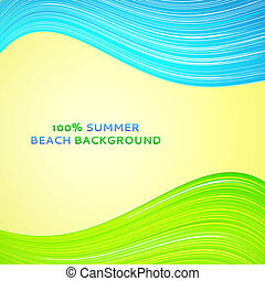 Abstract wave background. Vector illustration.